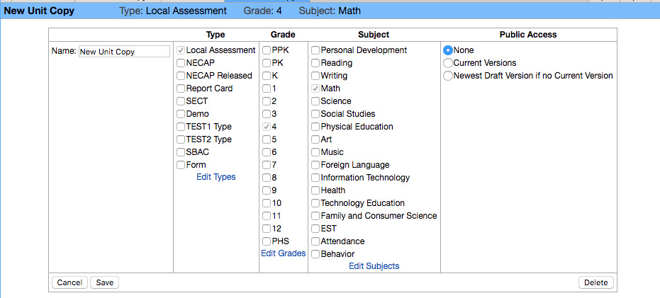 Wiki NewCurriculumUnit Edit NameTypeGradeSubject DropDown.png