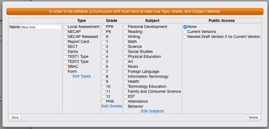 Curriculum Options - VCAT WIKI